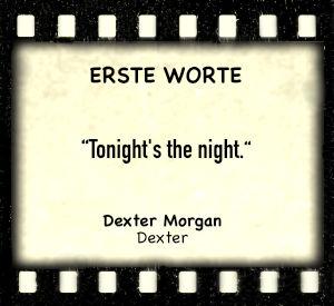 """Dexter Morgan in """"Dexter"""" - Zitat"""