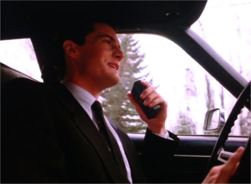 "Dale Cooper in ""Twin Peaks"""