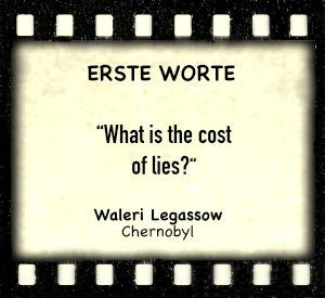 """Waleri Legassow in """"Chernobyl"""" - Zitat"""