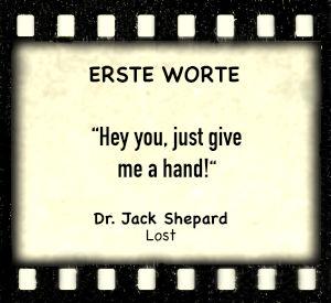 """Jack Shephard in """"Lost"""" -Zitat"""