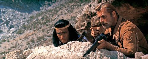 """Winnetou und Old Shatterhand in """"Der Schatz im Silbersee"""""""